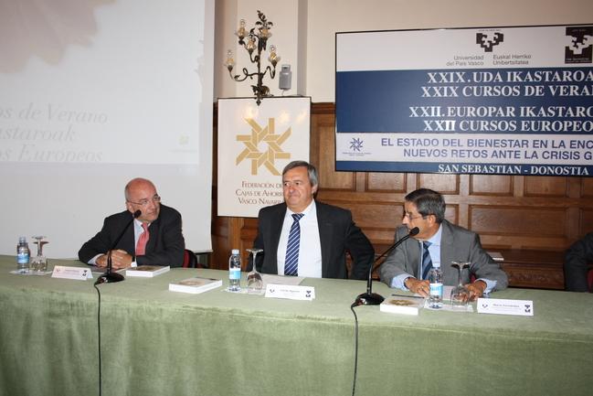 Joaquín Almunia, Carlos Aguirre y Mario Fernández
