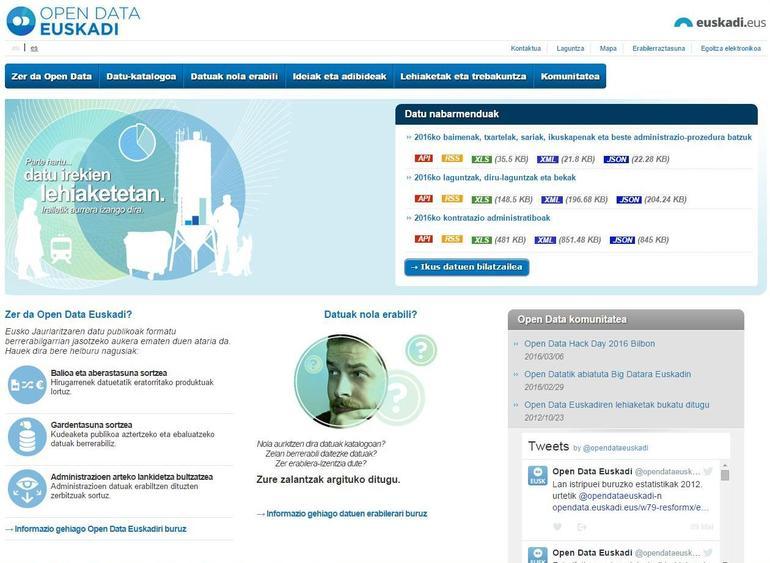 """""""Open Ispilu"""" y """"Servirace, la guía runner"""", proyectos ganadores en la categoría de aplicaciones del concurso """"OPEN DATA EUSKADI"""" que organiza el Gobierno vasco para promover el uso de datos abiertos"""
