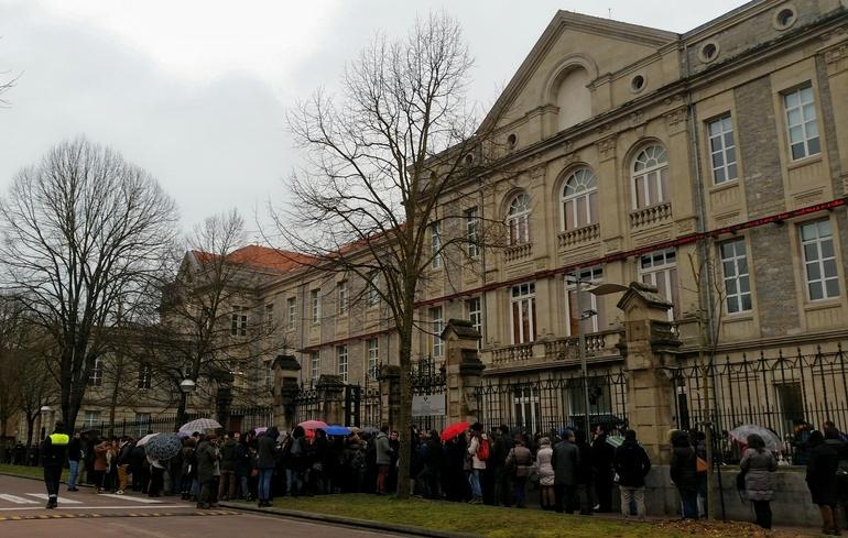Comienzan las pruebas de selección de la OPE de 157 plazas en la Administración de Justicia en Euskadi