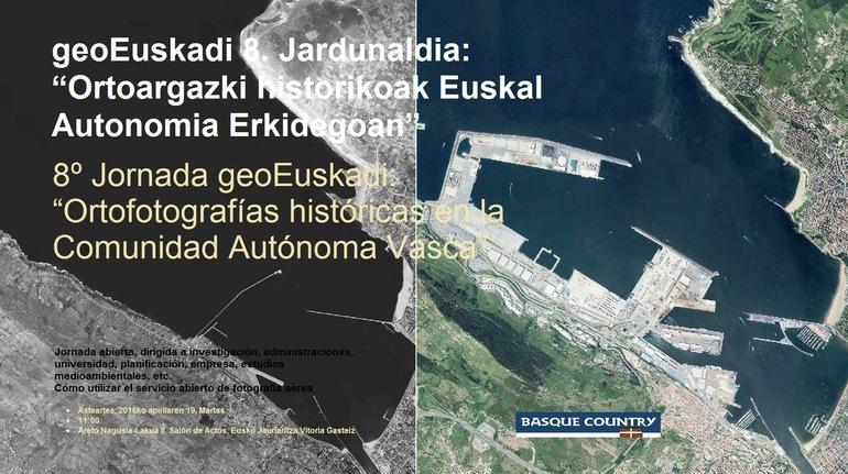 """geoEuskadi 8. Jardunaldia: """"Ortoargazki historikoak Euskal Autonomia Erkidegoan"""""""