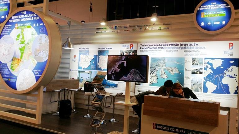 Ana Oregi expondrá en el Salón Internacional de la Logística de Barcelona la oferta vasca de intermodalidad en el transporte de mercancías