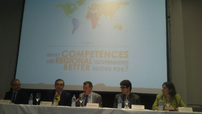 The Basque Government defines the uniqueness of the Basque Country at the VII World Summit of Regional Governments