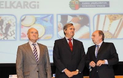 Victoriano Susperregui, Carlos Aguirre y Jesús Alberdi