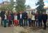Peli Manterola con los jóvenes investigadores en el sector agrolimentario y forestal