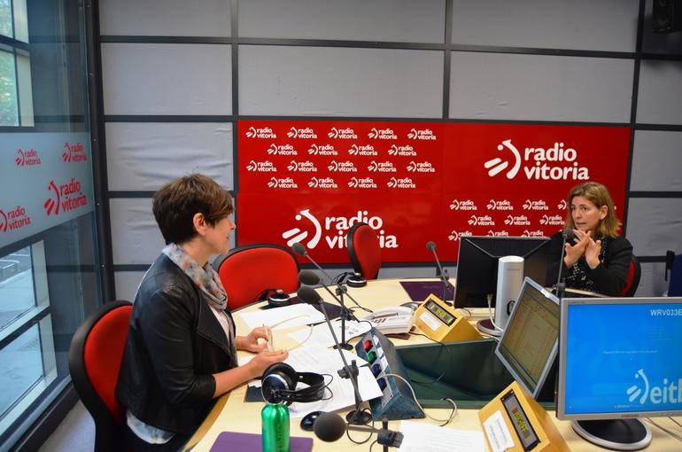 La Consejera de Medio Ambiente y Política Territorial, Ana Oregi, en Radio Vitoria