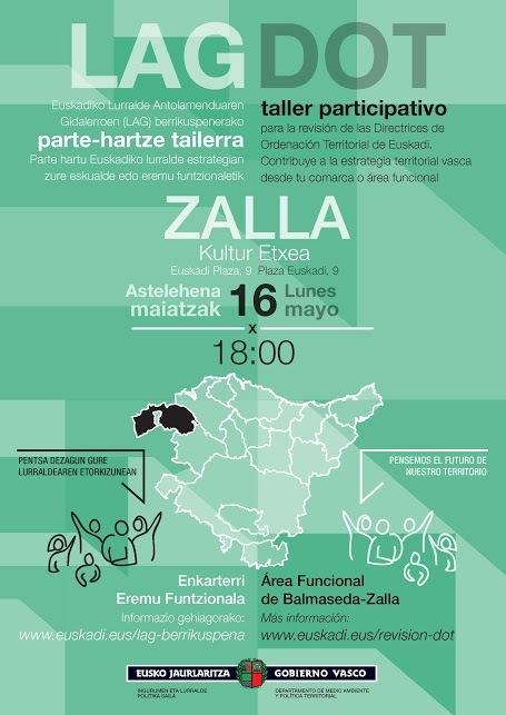 Cartel Taller Zalla