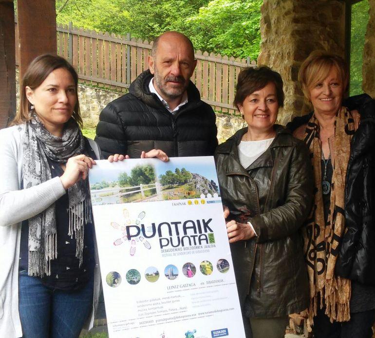PUNTAIK PUNTA. Festival de senderismo de Debagoiena. 10, 11 y 12 de junio