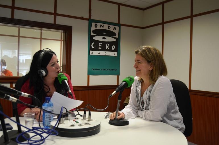 Ángeles Ormeño y Ana Oregi