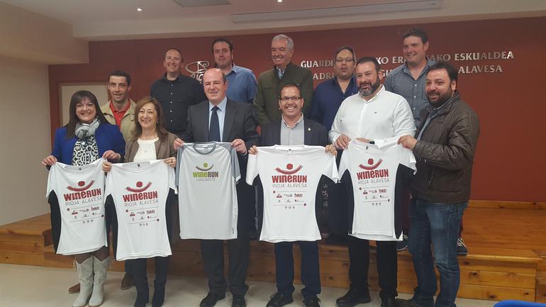 Presentación de la Wine Run Rioja Alavesa