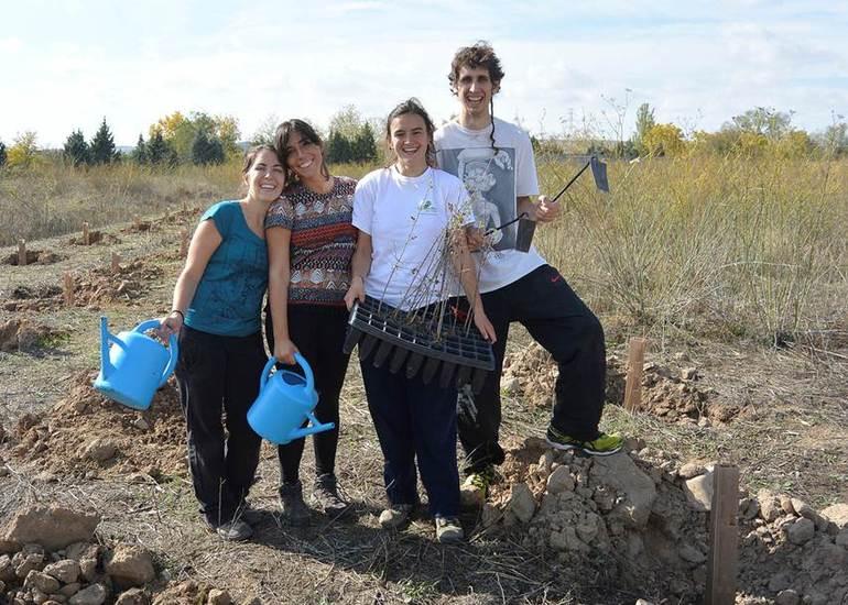 La juventud vasca muestra un comportamiento cada vez más respetuoso conel medio ambiente (foto: Auzolandegiak 2016; autora: María Blazquez Olaciregui)