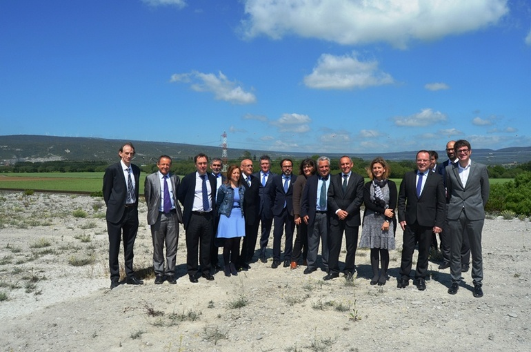 Visita del Vicepresidente de Aquitaine-Limousin-Poitou Charentes, Renaud Lagrave, la pasada semana a Jundiz