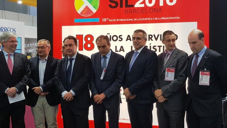 Antonio AAiz junto al secretario de Estado