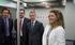 Oregi, en la inauguración de la linea 2 de metro Bilbao