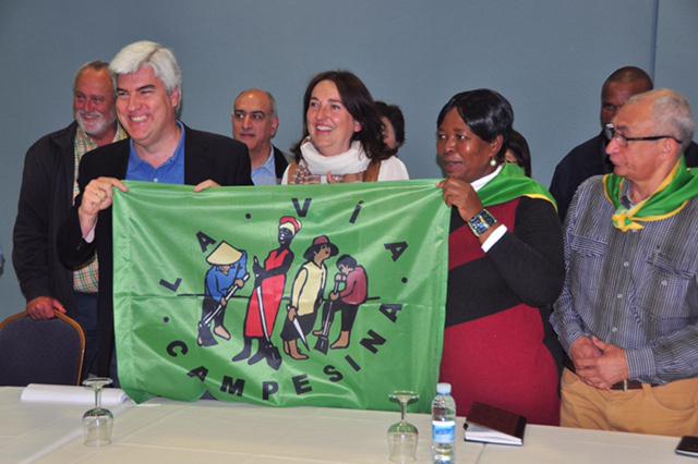 Lanzamiento internacional de la VII Conferencia de La Vía Campesina