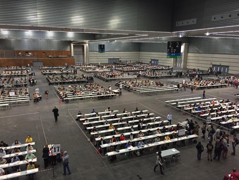 3.011 aspirantes se han presnetado a la primera prueba de la OPE 2016