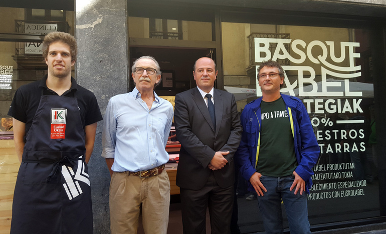 Inauguración de Basque Label Harategia