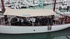 El barco Saltillo, en La Rochelle