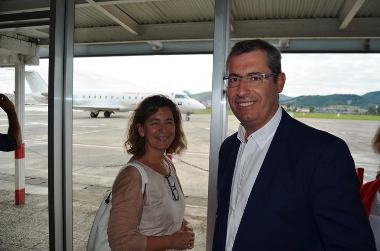 Oregi y Olano, el pasado julio en Hondarribia