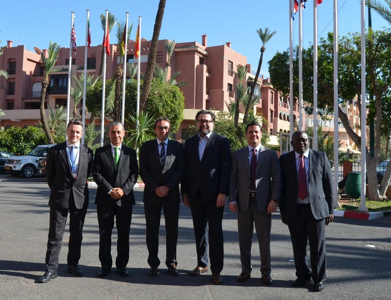 Los cochairs de The Climate Group (Africa-Europa-North America-South America-Asia/Oceanía