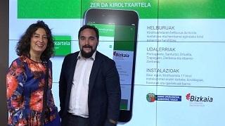 Lorea Bilbao y Jon Redondo.