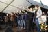 Ikerne Zuluaga brinda por la nueva cosecha de Txakoli en Getaria