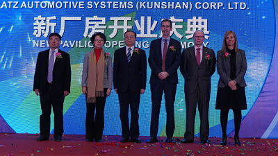 The Basque Government and the Kunshan authorities open the fourth Batz plant in China