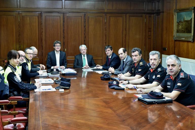 Vitoria-Gasteiz hiriburua seguruagoa, 2016an delitu-tasak % 2,37 jeitsi ondoren