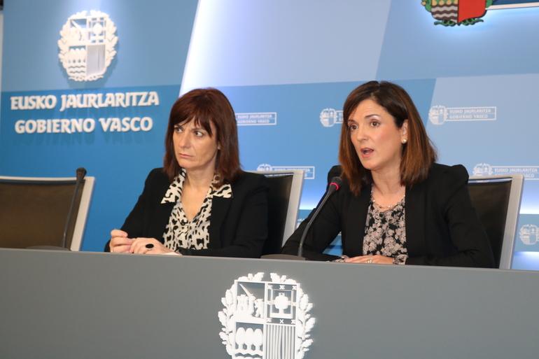 Beatriz Artolazabal eta Lide Amilibia