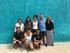 En la foto, cinco de los ocho jovenes cooperantes en Mexico, éstos días