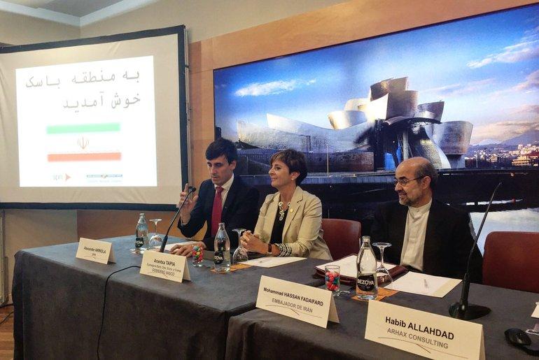 Jornada Irán de octubre 2016 en Bilbao
