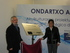 Pilar Unzalu opens an aquaculture plant in Getaria to rear turbot, sole and cod