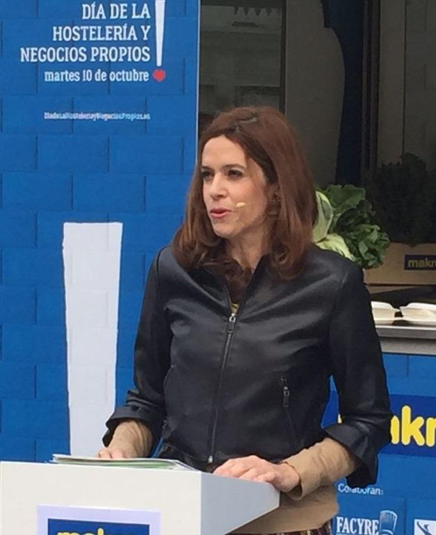 Maider Etxebarria en la presentación de la Jornada