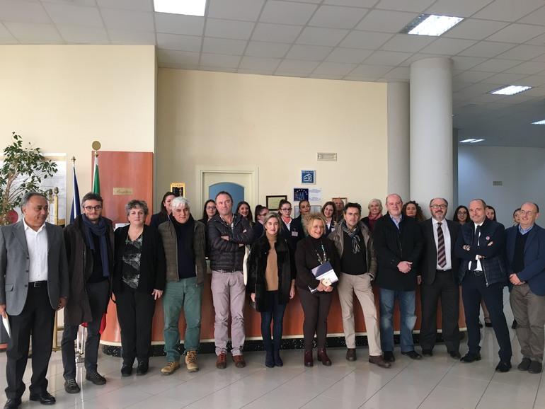 Representantes de Gobierno Vasco y Gobierno de Navarra en Italia