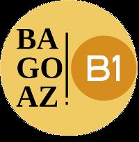 Bagoaz B1 logoa