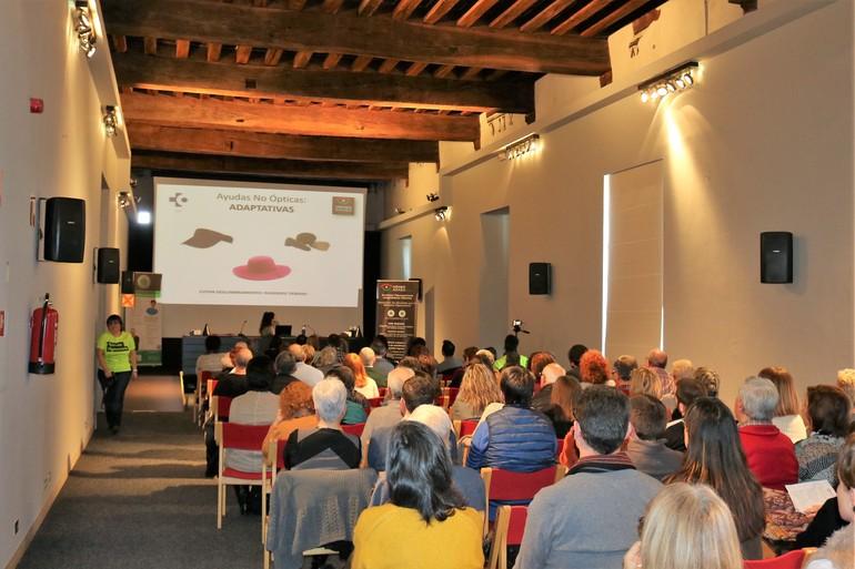Un momento de la Jornada hoy en Vitoria-Gasteiz