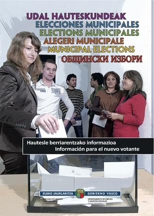 Una guía informa a la población inmigrante sobre como participar en las elecciones