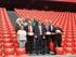 El consejero Zupiria junto a representantes de las federaciones y de los clubes Gernika, Getxo, Durango, Hernani, Euskarians y Ordizia.