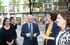Alvaro Ortega, Concha Díaz Robledo y la Sailburu Beatriz Artolazabal, esta tarde en Bilbao