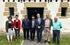 "Alfredo Retortillo,  acompañado por el director de Basquetour, Harkaitz Millán; José Mari Alberro, gerente del consorcio ""Sagardun"" y Amaia Zubeldia, responsable de ""Sagardoa Route"" y Gipuzkoako Sagardogileen Elkartea."