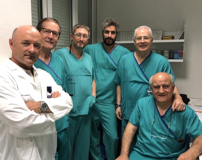 Elektrofisiologia eta Arritmien atalekoak, Kardiologiako Zerbitzuburua eta Josep Brugada Medikua