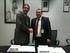 José Ignacio Hormaeche (EVE) y José Gandarias Torres (Elecnor) en la firma del contrato