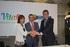 Cristina Uriarte, Jon Urresti y Gorka Urtaran han dado a conocer el acuerdo alcanzado