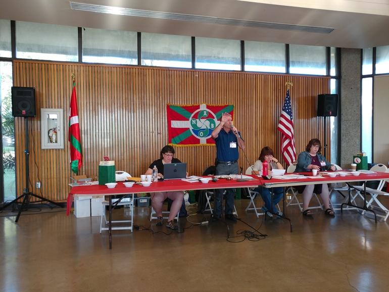 Reunión de Otoño (Fall Meeting) de las euskal etxeak en Los Banos (California).