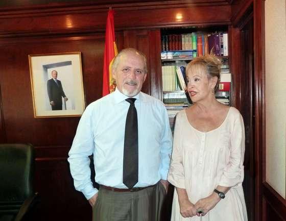 Elvira Cortajarena y Miguel Ángel Cortizo