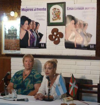 Conferencia en la casa vasca Euskal Odola