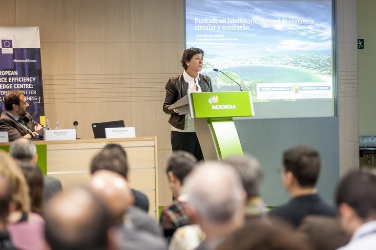 Elena Moreno, viceconsejera de Medio Ambiente. Gobierno Vasco