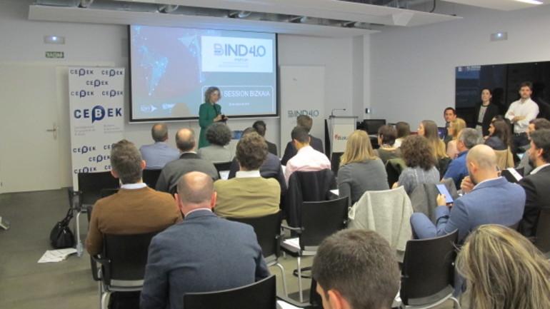 Marian Gabilondo en la Open Session Bind 4.0 de Bizkaia