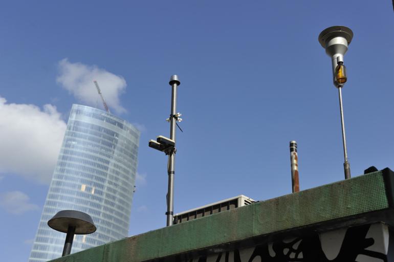 Estación de la Red de Control de Calidad del Aire en Bilbao