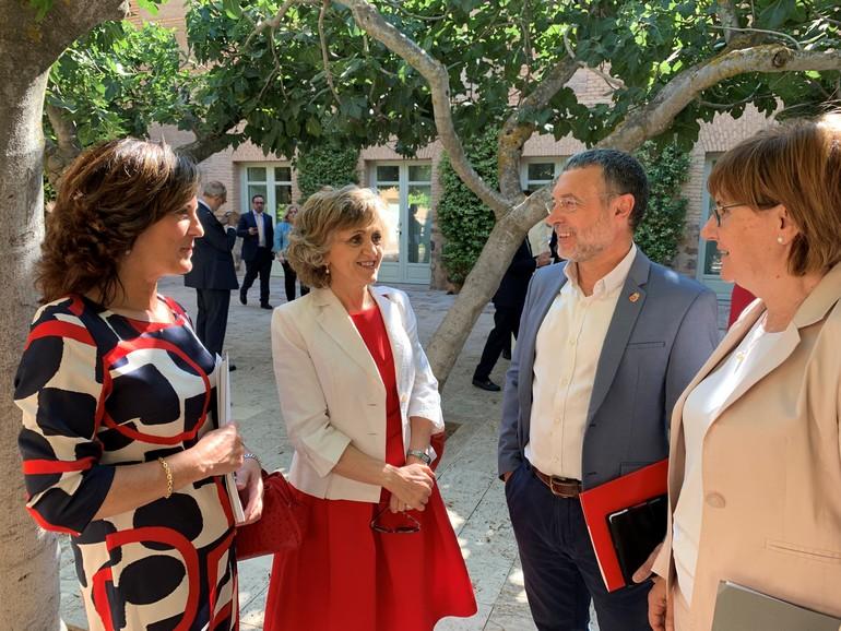 Artolazabal junto a la Ministra Carcedo y sus homólogos de Navarra y Asturias