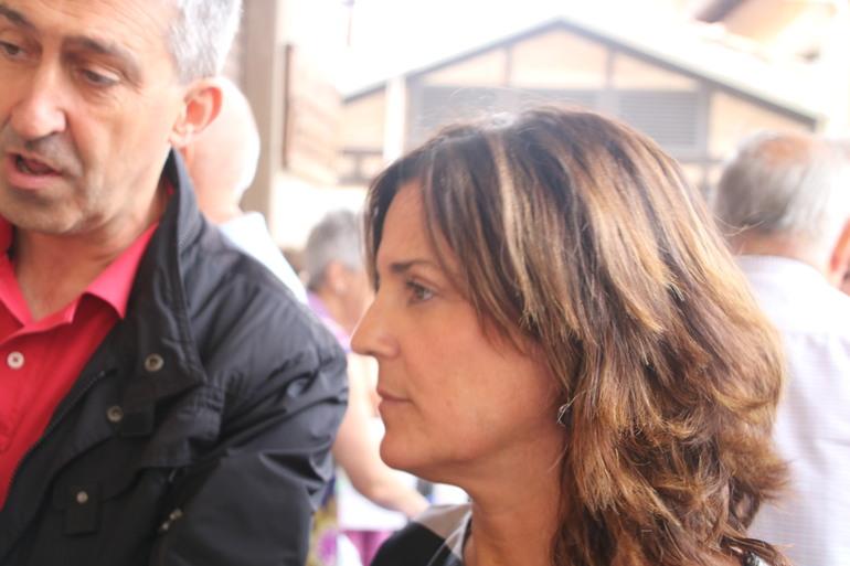 Artolazabal, en un encuentrp con mayores en Agurain/Salvatierra